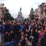 Band Members of RDTC In Disneyland Paris