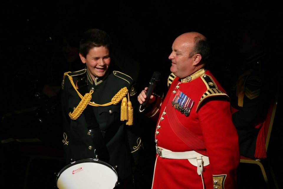 Adrian Beckett MBE & Mitchel Cressy